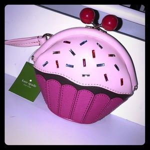 "Kate Spade ""Take the Cake"" wristlet/ small purse"